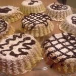 Mini Tortine super morbide ripiene di nutella