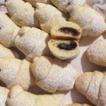 Cornetti alla Nutella a lunga lievitazione