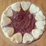 Crostata allo yogurt con nutella