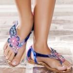 Le infradito gioiello dell'estate 2013, i modelli più di tendenza