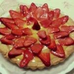 Crostata con fragole e crema pasticcera di Licia Farinelli