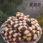 Biscottini a scacchi.