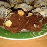 Tortine al cacao cocco e cioccolato bianco