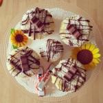 Muffin al cioccolato kinder.