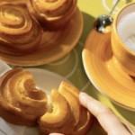Brioche girasoli con crema pasticcera