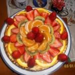 Cheese Cake Alla Frutta Fresca Di Dina La Piscopia